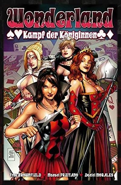 Wonderland 11: Kampf der Königinnen - Das Cover