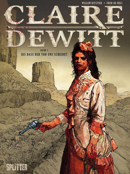 Claire Dewitt 1 – Bis das der Tod uns scheidet - Das Cover