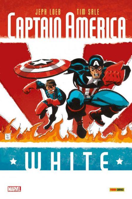 Captain America: White - Das Cover