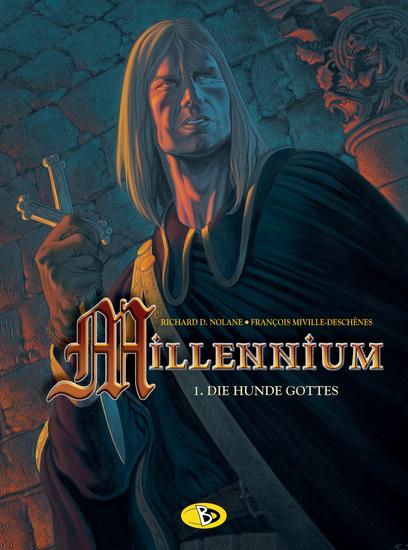 Millennium 1: Die Hunde Gottes - Das Cover