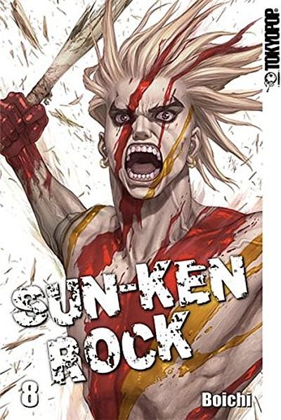 Sun-Ken Rock 8 - Das Cover