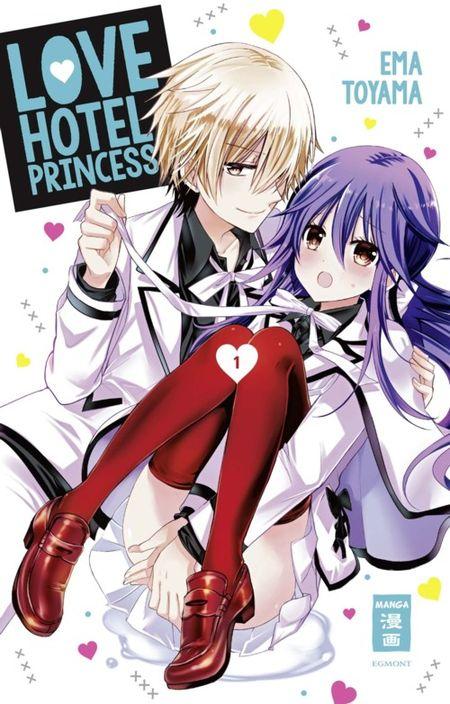 Love Hotel Princess 1 - Das Cover