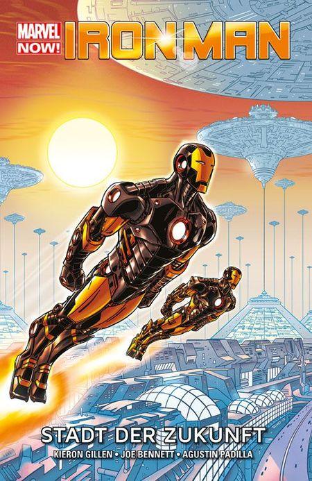 Iron Man Marvel Now Paperback 4: Stadt der Zukunft - Das Cover