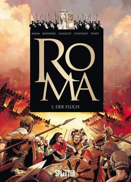 Roma 1 - Der Fluch - Das Cover