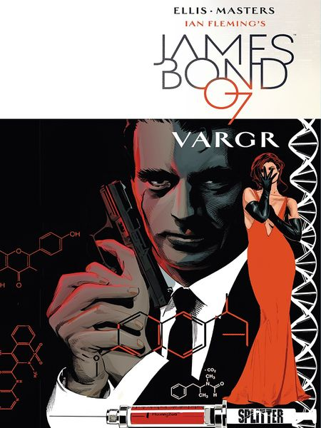 James Bond 007 1: Vargr - Das Cover