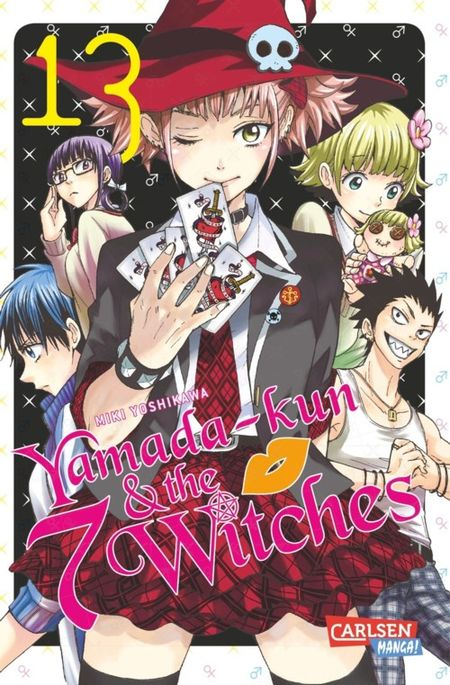 Yamada-kun and the 7 Witches 13 - Das Cover