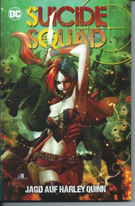 Suicide Squad: Jagd auf Harley Quinn - Das Cover