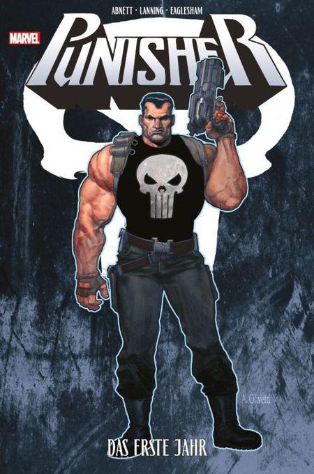 Punisher: Das erste Jahr - Das Cover