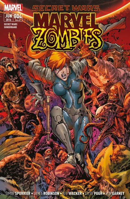 Secret Wars Sonderband 4: Marvel Zombies - Das Cover