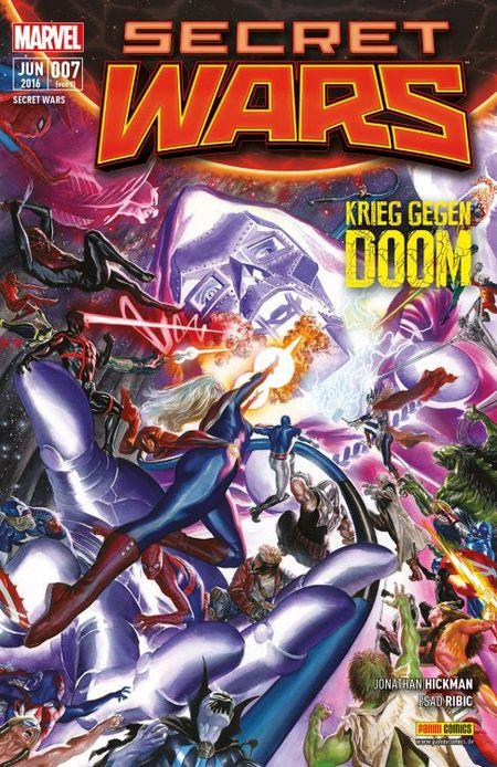 Secret Wars #7 - Das Cover