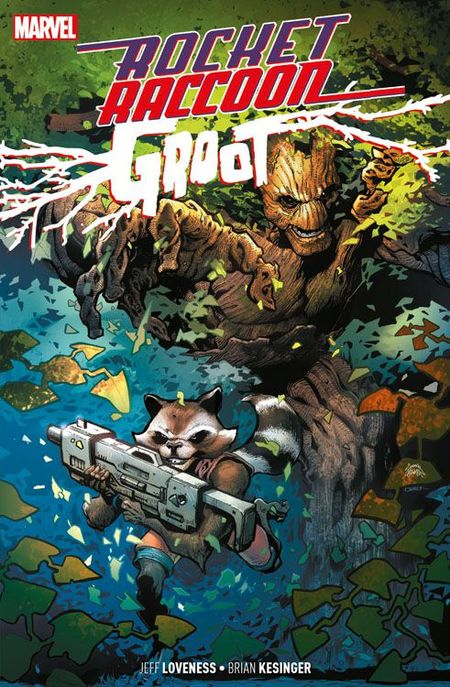 Rocket Raccoon & Groot - Das Cover