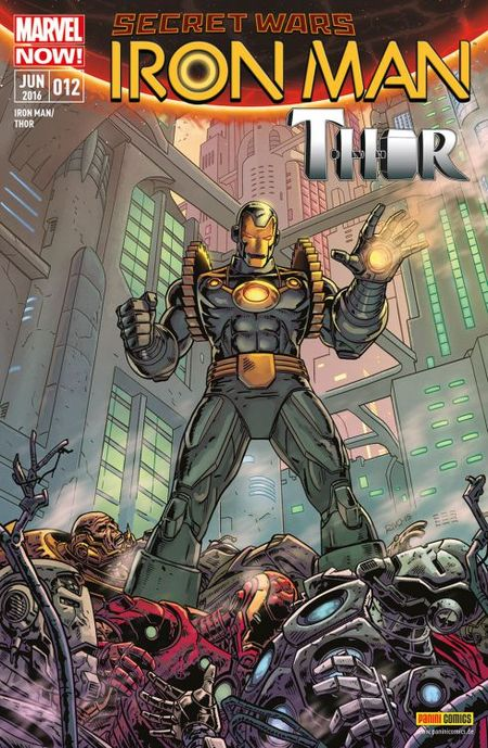 Iron Man/Thor 12 - Das Cover