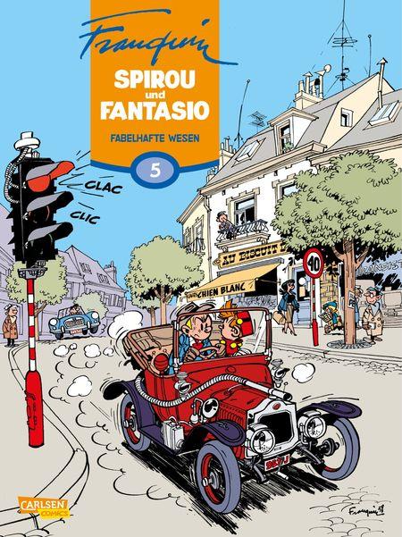 Spirou und Fantasio 5: Fabelhafte Wesen - Das Cover