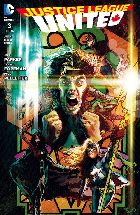Justice League United 3: Ewiger Krieg - Das Cover