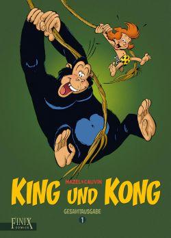 King und Kong: Gesamtausgabe 1 - Das Cover