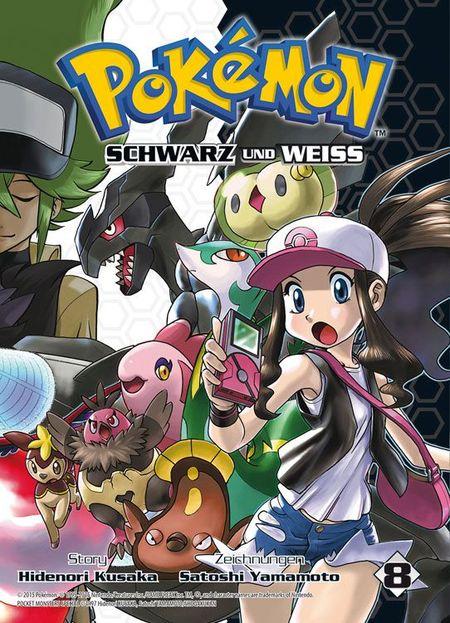 Pokémon SCHWARZ und WEISS 8 - Das Cover