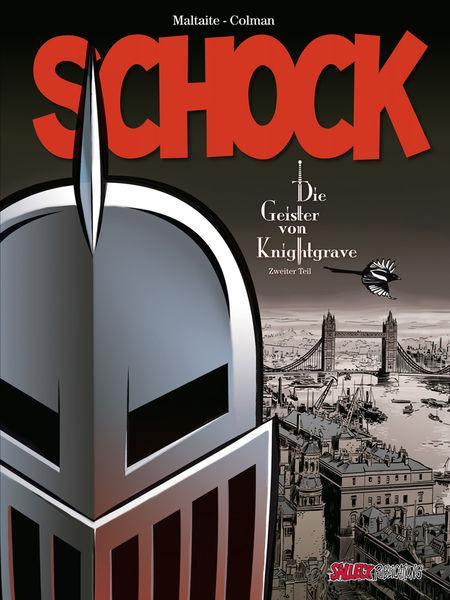 Schock – Die Geister von Knightgrave 2  - Das Cover