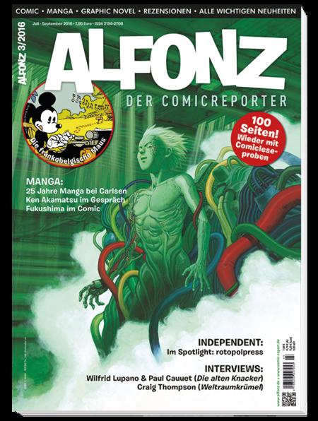 Alfonz 3/2016 - Das Cover