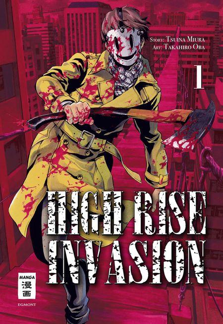 High Rise Invasion - Das Cover