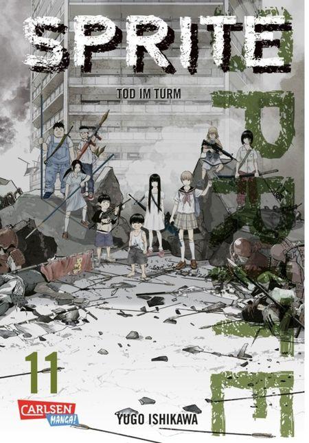 Sprite 11 - Das Cover