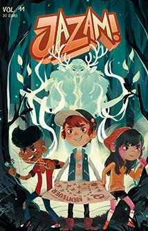 Jazam! Vol. 11: Abenteuer - Das Cover