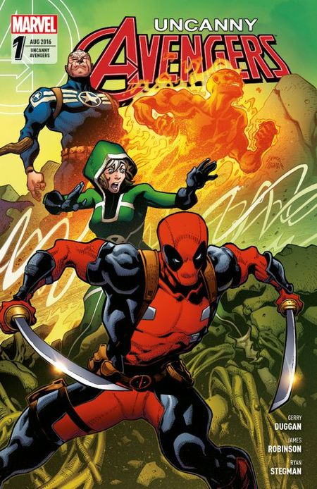 Uncanny Avengers 1: Wiedergeburt - Das Cover