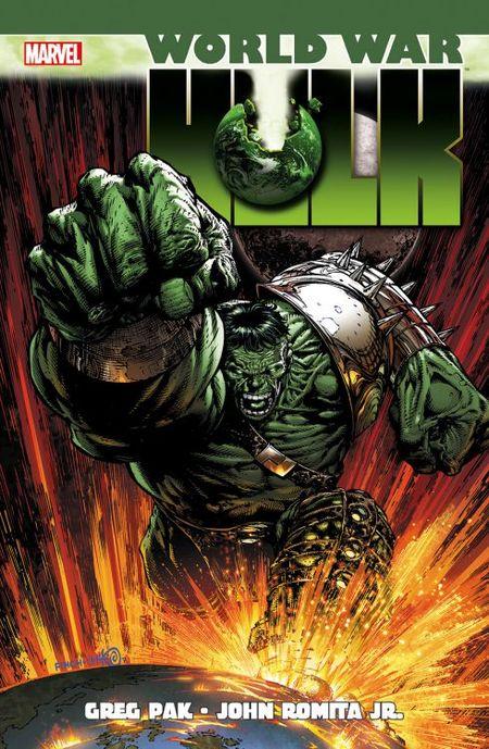 World War Hulk - Das Cover