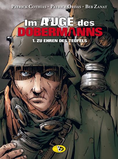 Im Auge des Dobermanns 1: Zu Ehren des Teufels - Das Cover