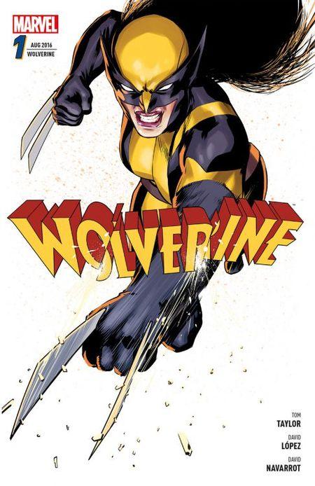 Wolverine 1: Killergene - Das Cover