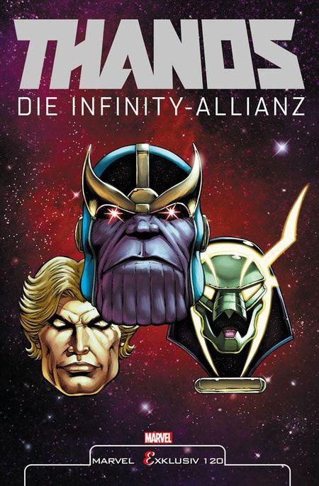 Thanos: Die Infinity-Allianz - Das Cover