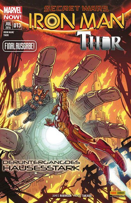 Iron Man / Thor 13 - Das Cover