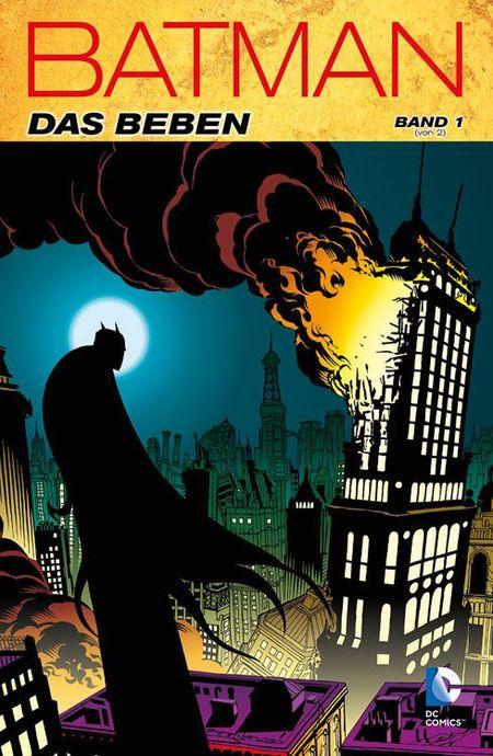 Batman: Das Beben Band 1 - Das Cover