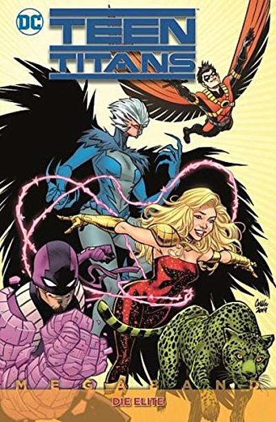 Teen Titans Megaband 1: Die Elite - Das Cover