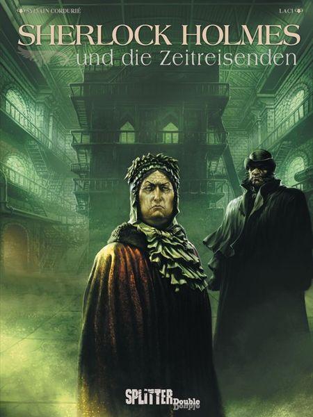 Sherlock Holmes und die Zeitreisenden - Das Cover