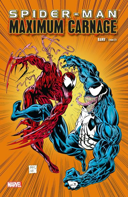 Spider-Man: Maximum Carnage Band 1 - Das Cover