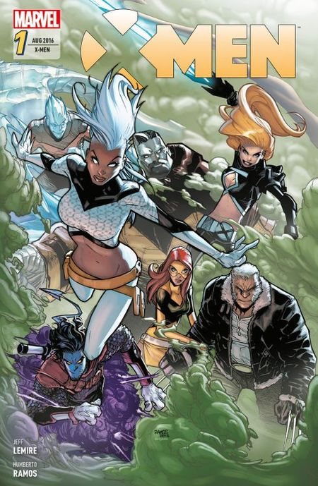 X-Men 1 - Das Cover