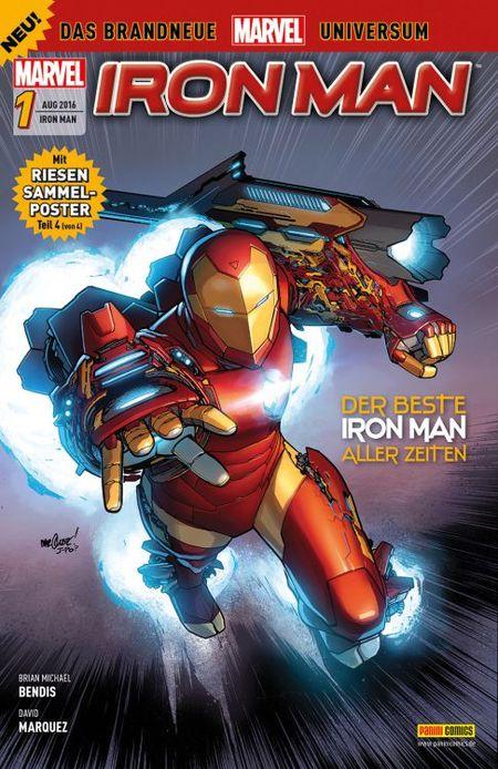 Iron Man 1 - Das Cover