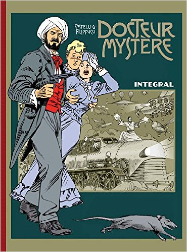 Docteur Mystère Integral - Das Cover