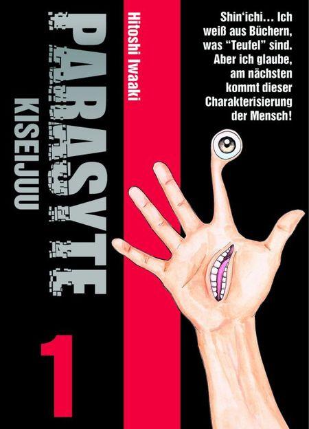 Parasyte - Kiseijuu 1 - Das Cover