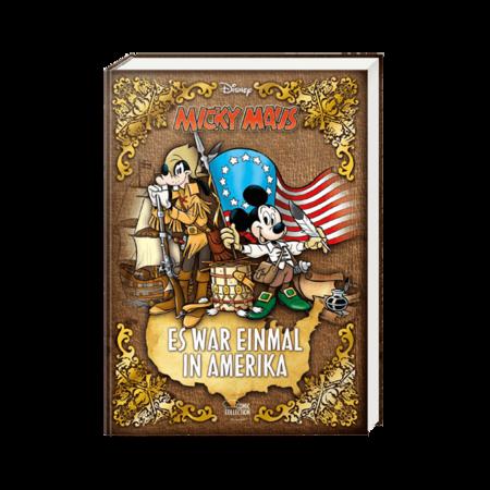 Micky Maus - Es war einmal in Amerika - Das Cover