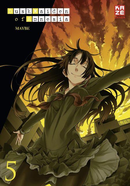 Dusk Maiden of Amnesia 05 - Das Cover