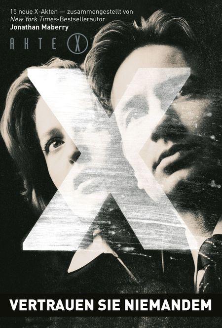 Akte X: Vertrauen Sie niemandem - Das Cover