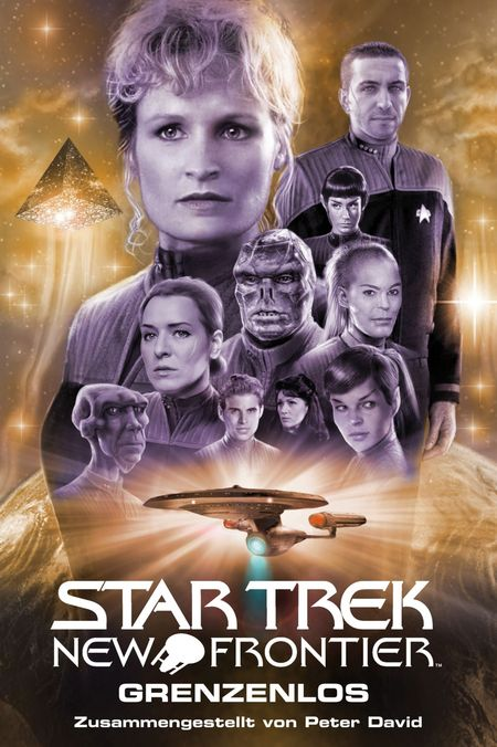 Star Trek - New Frontier: Grenzenlos - Das Cover