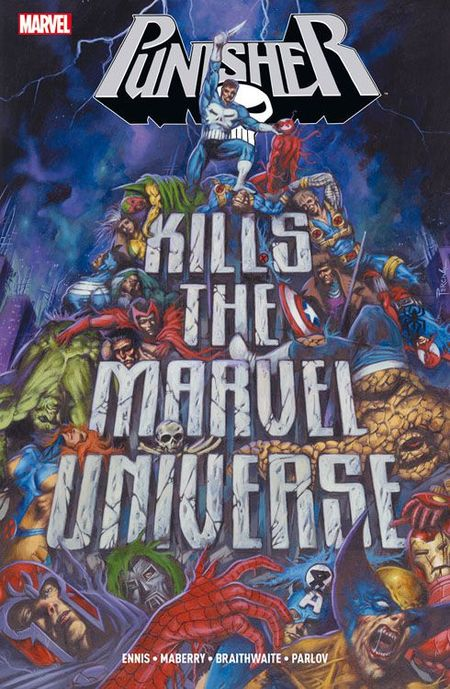 Punisher kills the Marvel Universe - Das Cover