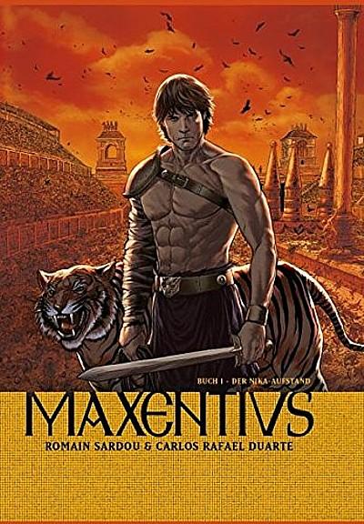 Maxentius 1: Der Nika Aufstand - Das Cover
