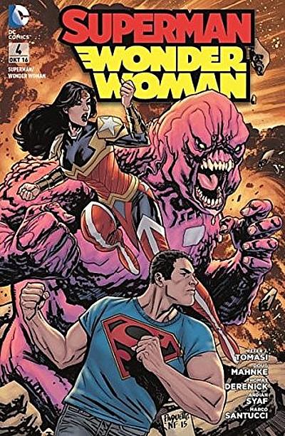 Superman/Wonder Woman 4: Gebrochene Herzen - Das Cover