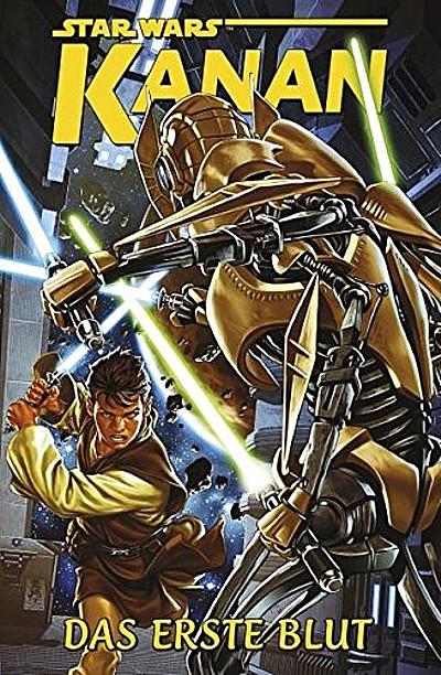 Titel: Star Wars Sonderband: Kanan II – Das erste Blut - Das Cover