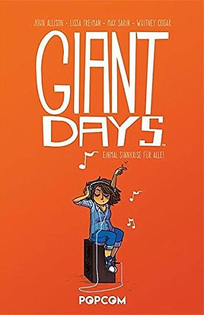 Giant Days 2: Einmal Sinnkrise für alle! - Das Cover
