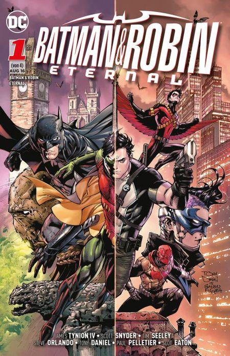 Batman & Robin Eternal Band 1: Batmans Geheimnis - Das Cover