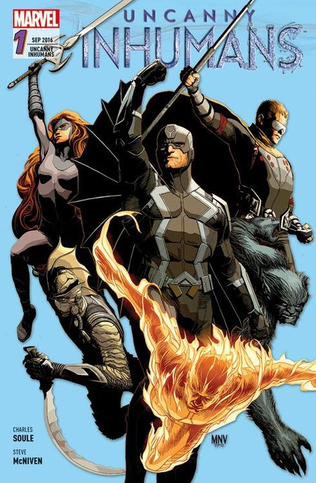Uncanny Inhumans Band 1 - Das Cover